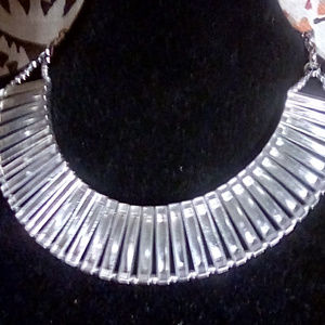Lot of 4 Necklaces Silver and mixed tone metals